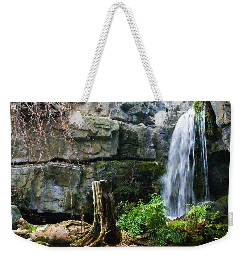 Waterfall Weekender Tote Bag featuring the photograph Fairy Waterfall by Douglas Barnett