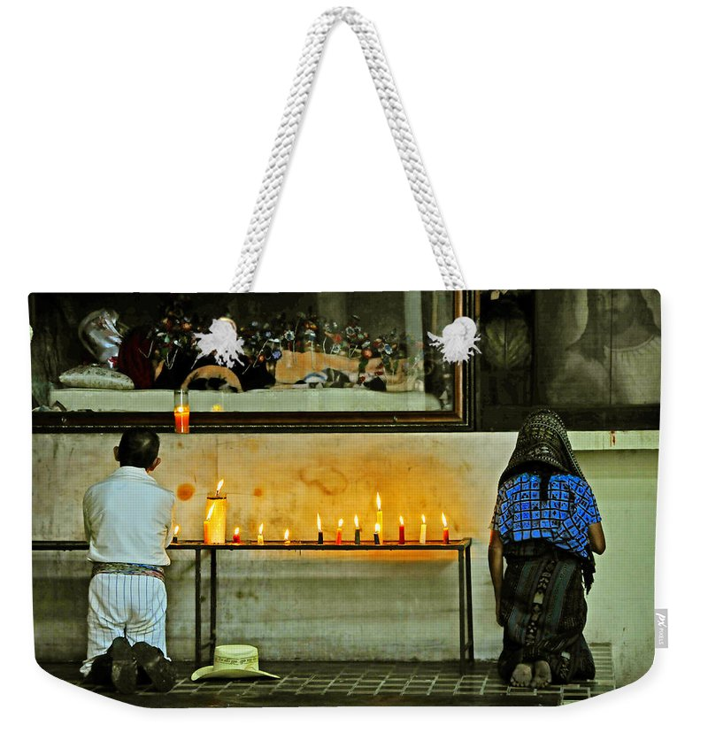 Skip Hunt Weekender Tote Bag featuring the photograph Faith by Skip Hunt