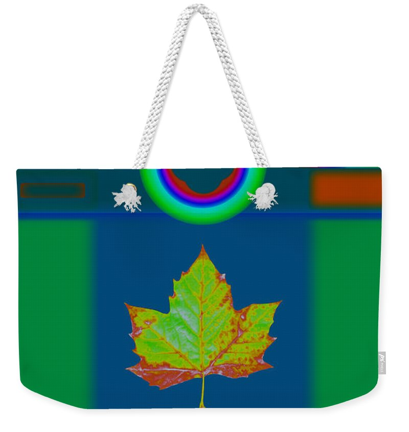Classical Weekender Tote Bag featuring the painting Fall by Charles Stuart