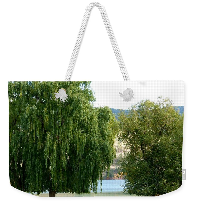 Kaloya Park Weekender Tote Bag featuring the photograph Fall In Kaloya Park 6 by Will Borden
