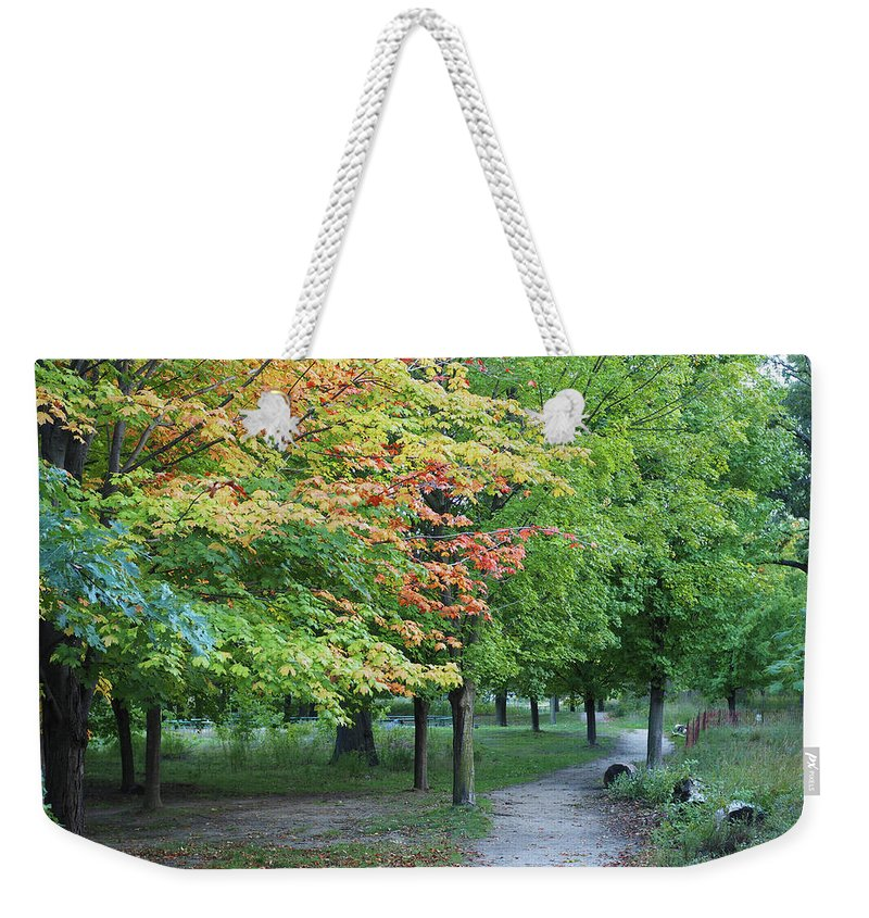 Nature Weekender Tote Bag featuring the photograph Fall Is Arriving by BiR Fotos