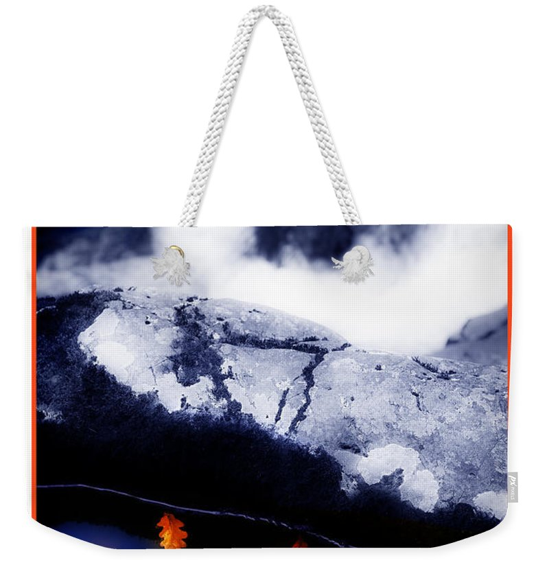 Water Weekender Tote Bag featuring the photograph Fall Quintet by Mal Bray