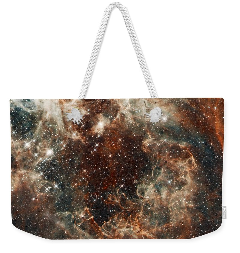 Nebula Weekender Tote Bag featuring the photograph Fall Storm by Jennifer Rondinelli Reilly - Fine Art Photography
