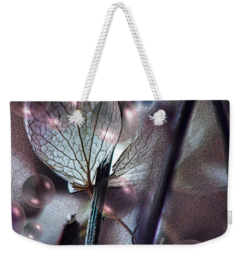 Flowers Weekender Tote Bag featuring the photograph Falling In Love... by Arthur Miller