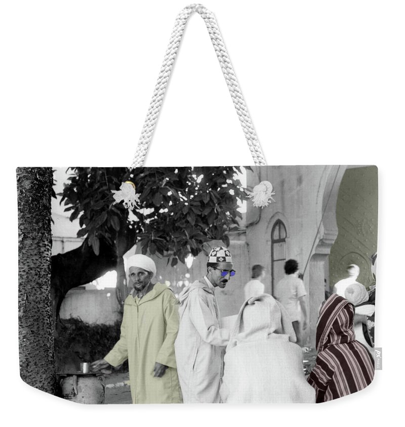 Weekender Tote Bag featuring the photograph Family by Mark Alesse