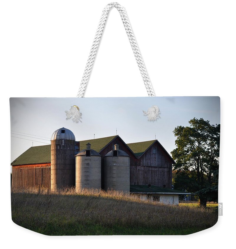 Fall Weekender Tote Bag featuring the photograph Family by Tim Nyberg