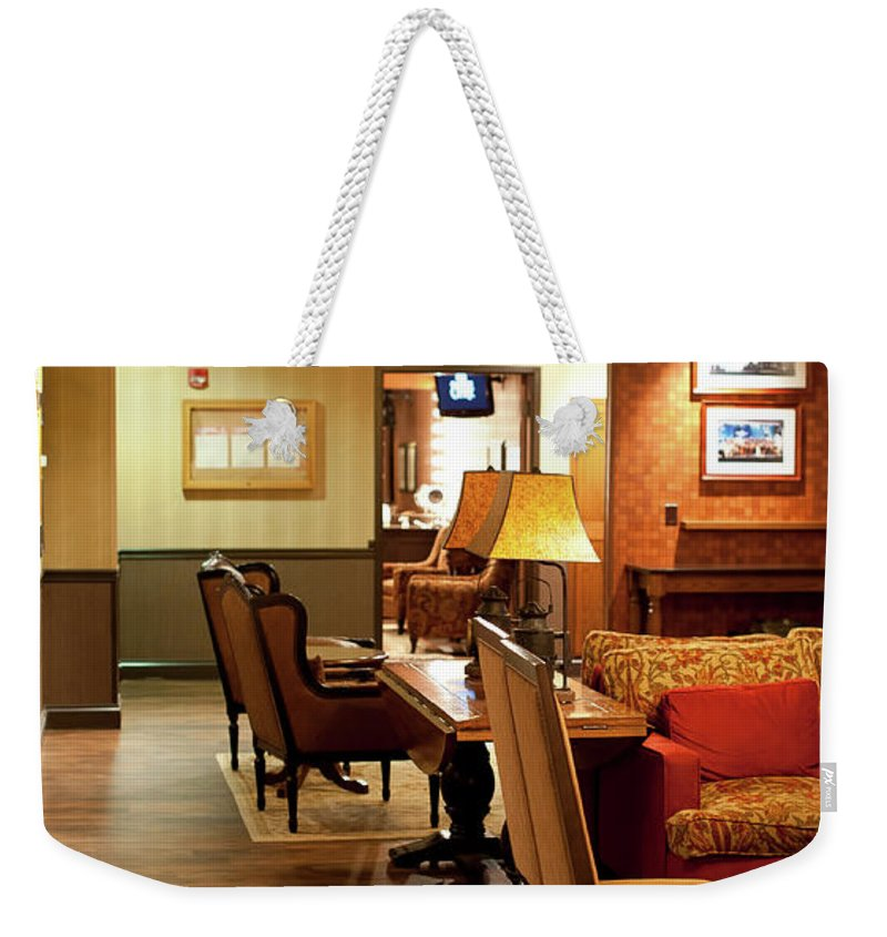 Grand Ole Opry Weekender Tote Bag featuring the photograph Family Room For Performers Grand Ole Opry House, Nashville, Tennessee by Timothy Wildey