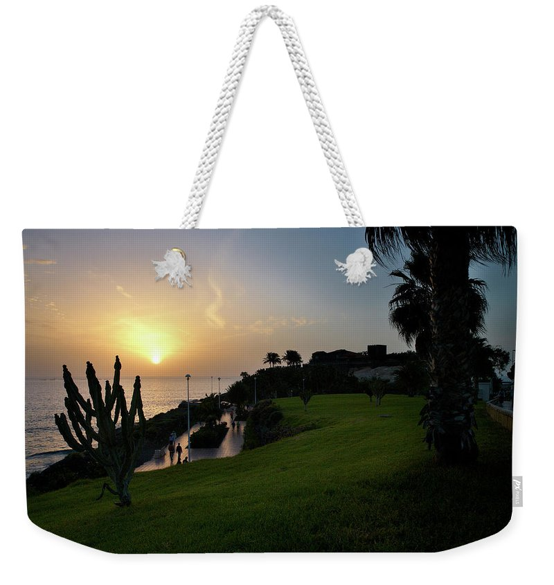 Fanabe Weekender Tote Bag featuring the photograph Fanabe Evening 1 by Jouko Lehto