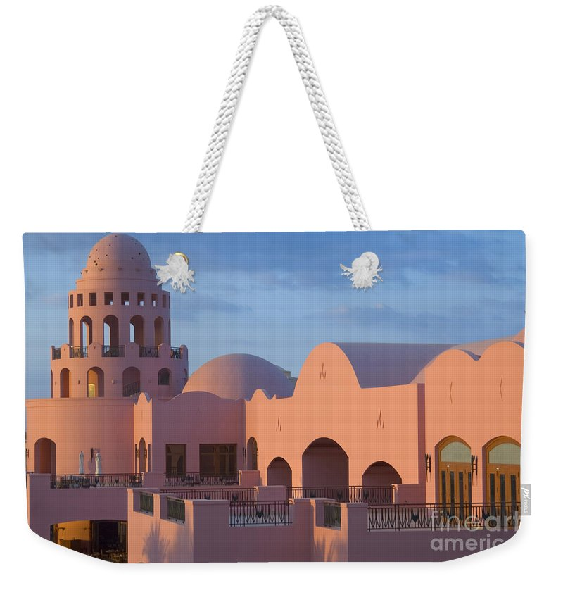 Culture Weekender Tote Bag featuring the photograph Fantasy Castle by Ilan Rosen