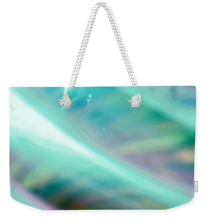 Digital Art Weekender Tote Bag featuring the photograph Fantasy Storm by Scott Wyatt