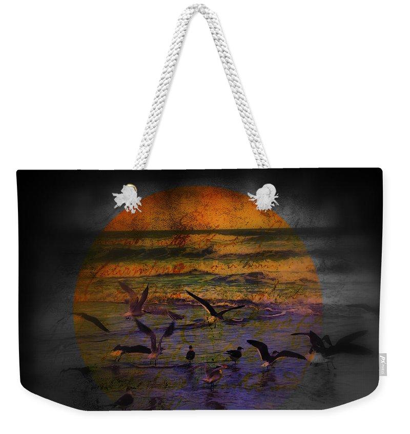 Birds Weekender Tote Bag featuring the photograph Fantasy Wings by Susanne Van Hulst