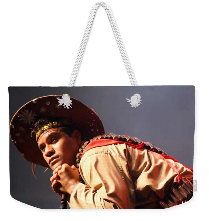 Festival Weekender Tote Bag featuring the photograph Far Away by Jo Hoden