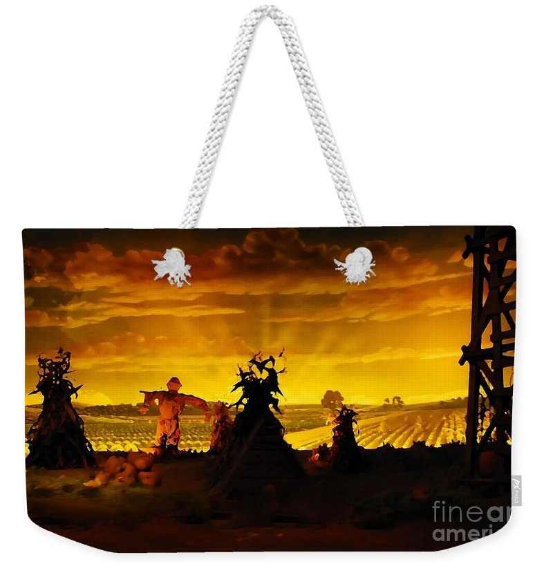 Farm Weekender Tote Bag featuring the photograph Farm Scape by David Lee Thompson