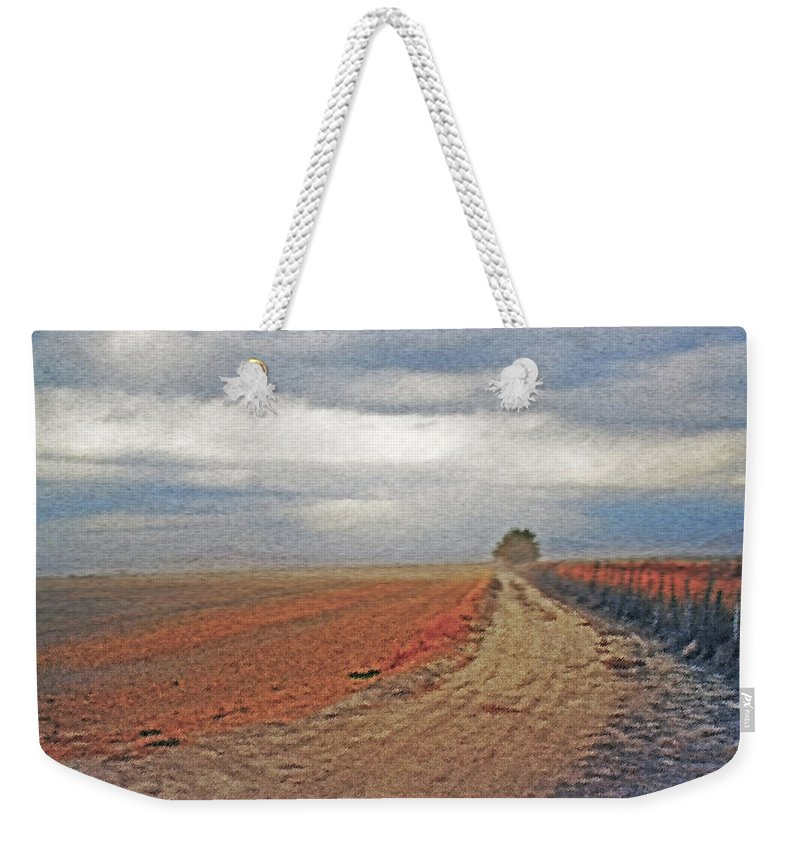 Farmland Weekender Tote Bag featuring the photograph Farmland 3 by Steve Ohlsen