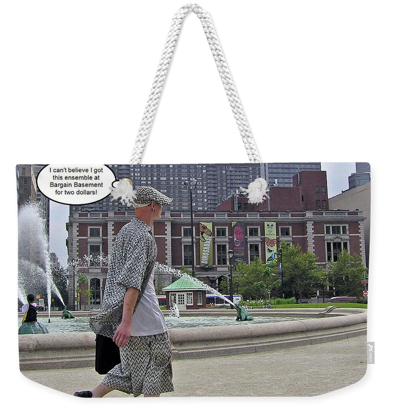 2d Weekender Tote Bag featuring the photograph Fashion by Brian Wallace