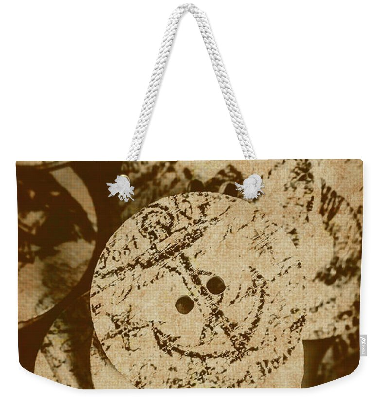 Anchor Weekender Tote Bag featuring the photograph Fasten For Rough Seas by Jorgo Photography - Wall Art Gallery