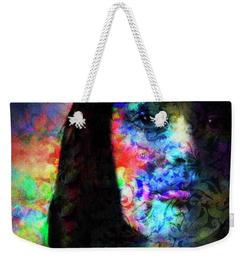 Digital Art Weekender Tote Bag featuring the photograph Fear Not by Edmund Nagele