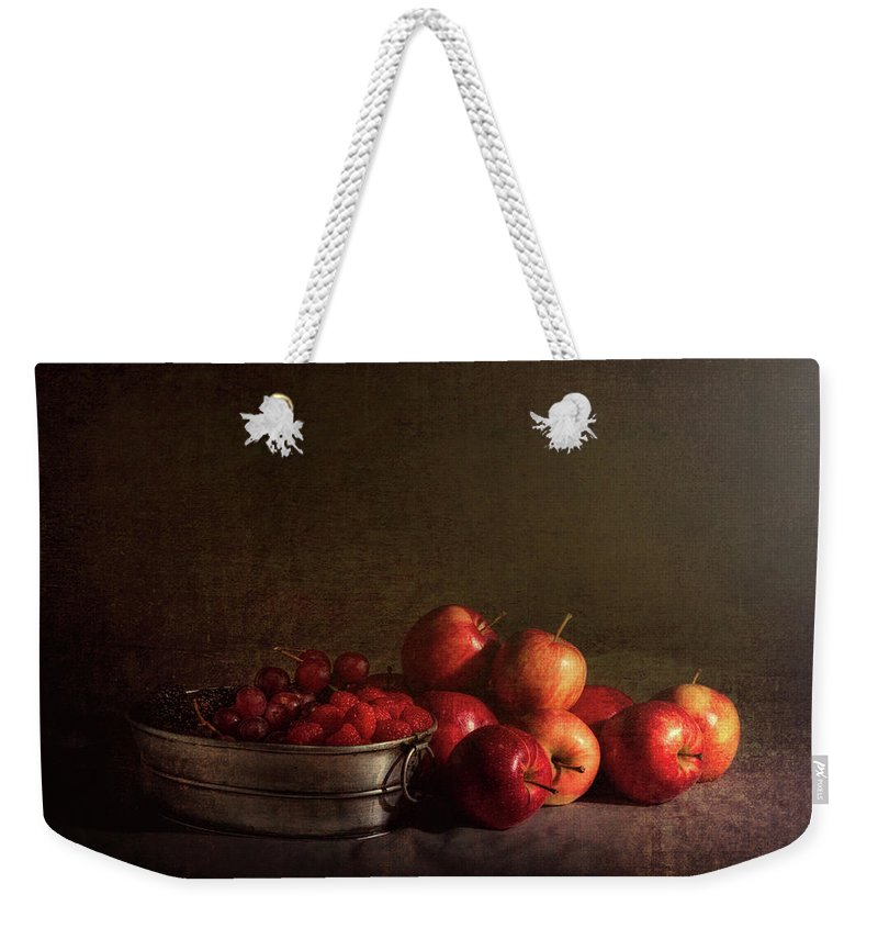 Abundance Weekender Tote Bag featuring the photograph Feast Of Fruits by Tom Mc Nemar