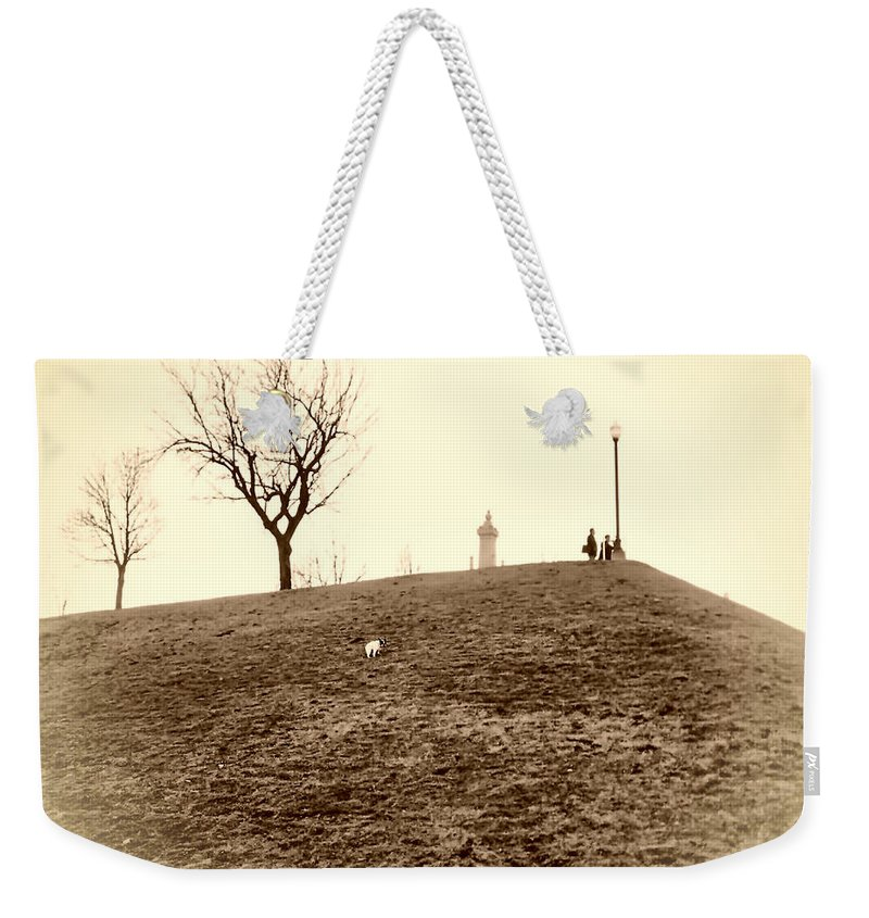 2d Weekender Tote Bag featuring the photograph Federal Hill by Brian Wallace