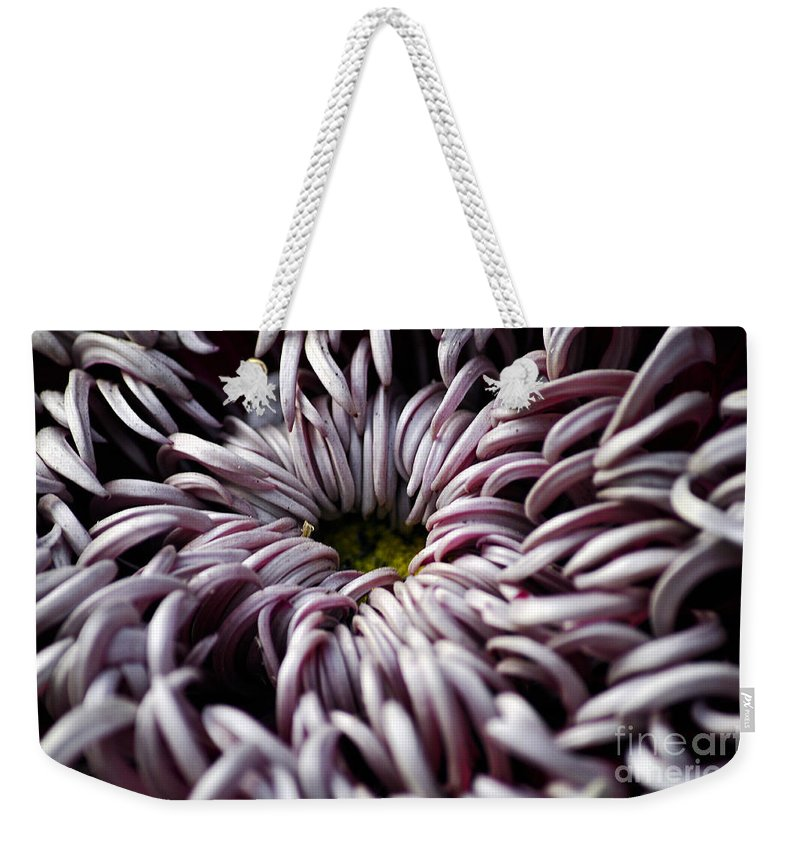 Clay Weekender Tote Bag featuring the photograph Feed Me by Clayton Bruster