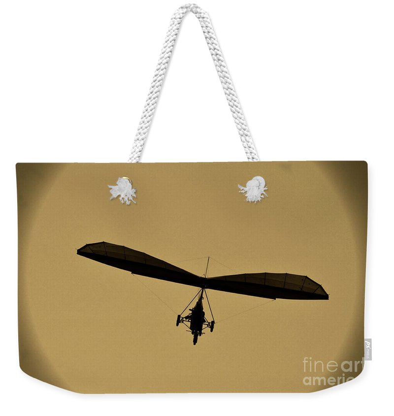 Balloons Weekender Tote Bag featuring the photograph Feel Free by Ilaria Andreucci