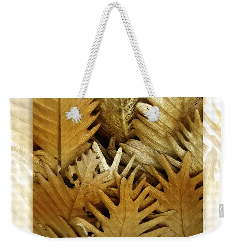 Florals Weekender Tote Bag featuring the photograph Feeling Nature by Holly Kempe
