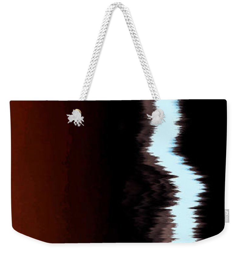 Wind Weekender Tote Bag featuring the photograph Feeling The Wind by Amanda Barcon