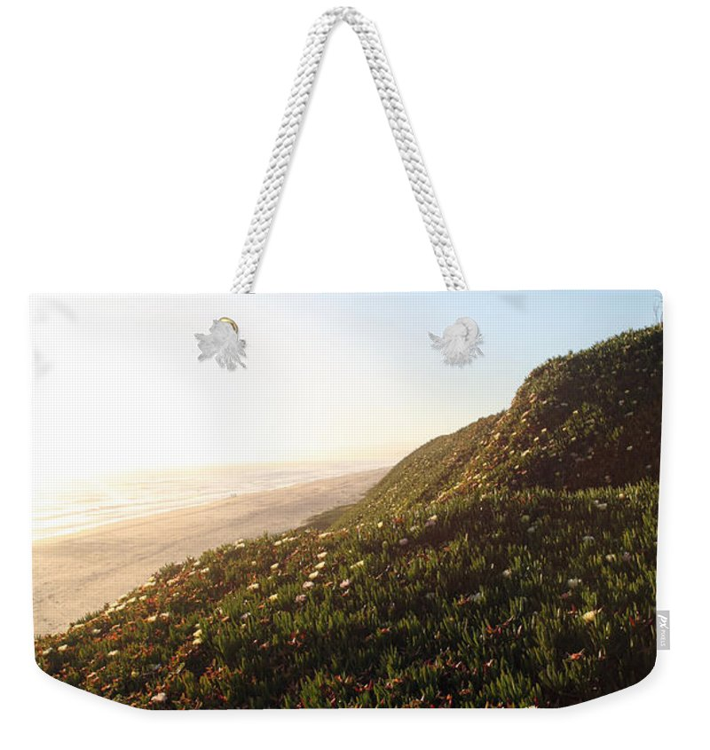 california Coast Weekender Tote Bag featuring the photograph Feels Like Home by Amanda Barcon