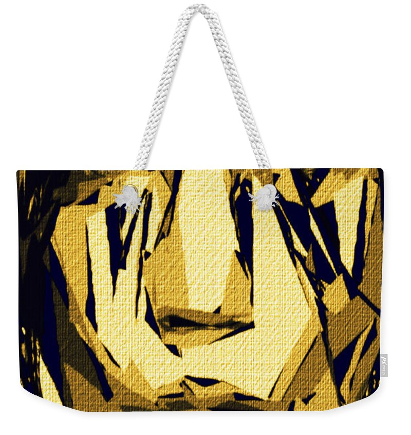 Art Weekender Tote Bag featuring the digital art Female Expressions Xlvi by Rafael Salazar