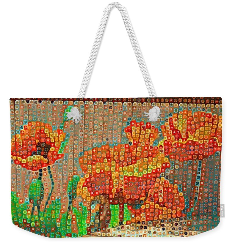 Fences Weekender Tote Bag featuring the photograph Fence Art by Cherylene Henderson