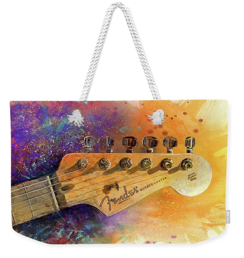 Guitar Weekender Tote Bags