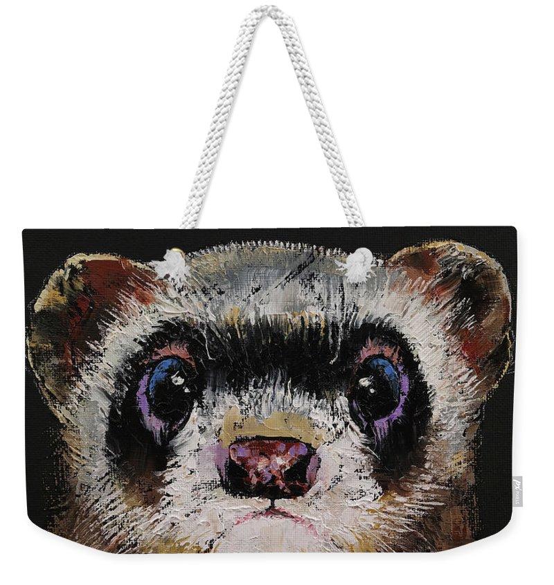 Ferrets Weekender Tote Bags