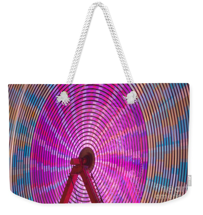 Clarence Holmes Weekender Tote Bag featuring the photograph Ferris Wheel I by Clarence Holmes