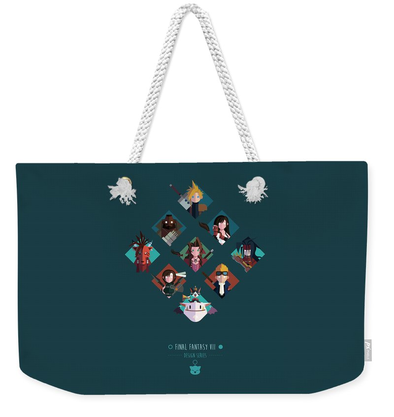 Final Fantasy Weekender Tote Bag featuring the digital art FF Design Series by Michael Myers