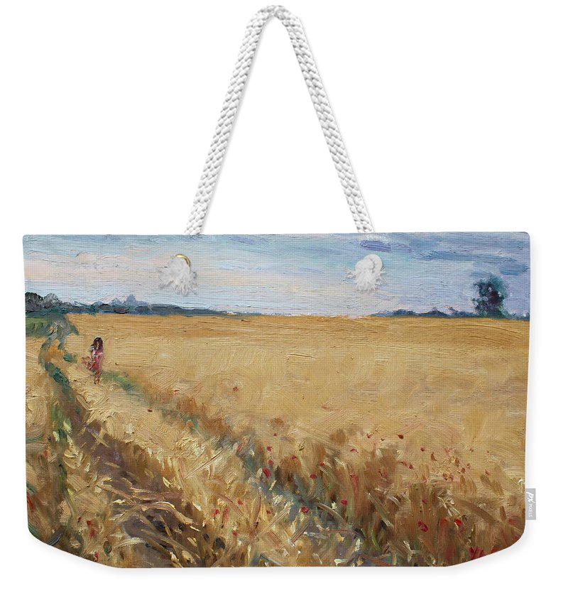 Grain Weekender Tote Bags
