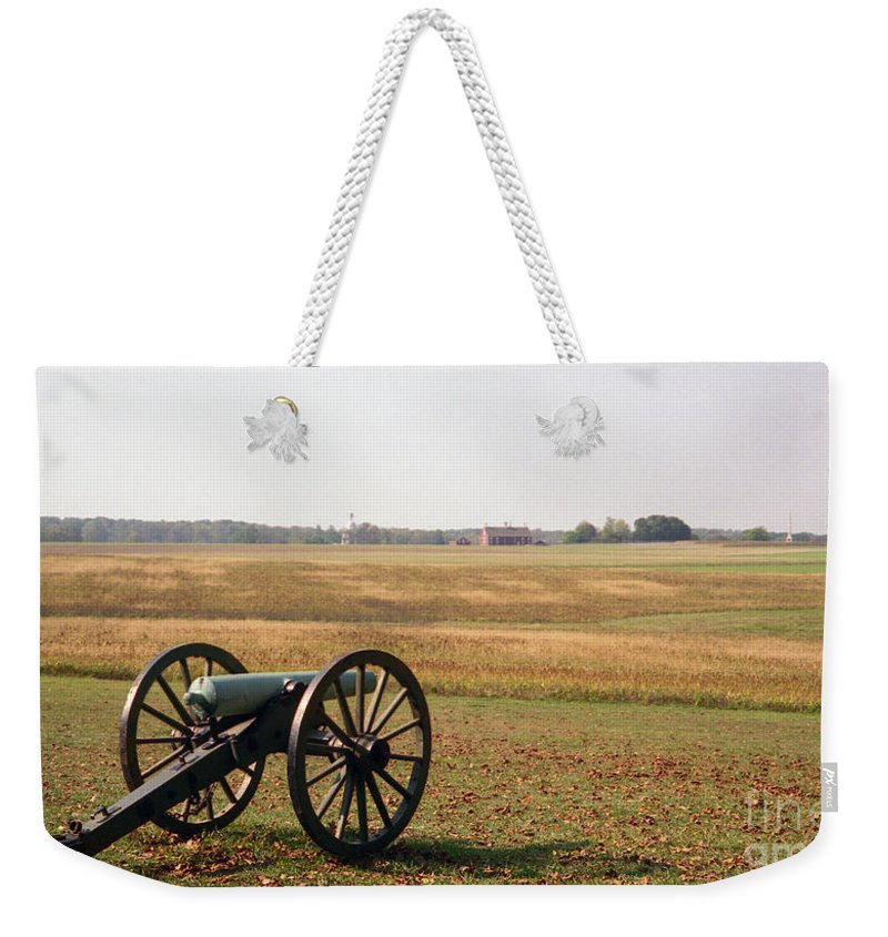Civil War Weekender Tote Bag featuring the photograph Fields Of Death by Richard Rizzo