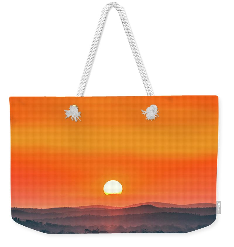 Australia Weekender Tote Bag featuring the photograph Fields Of Haze by Az Jackson