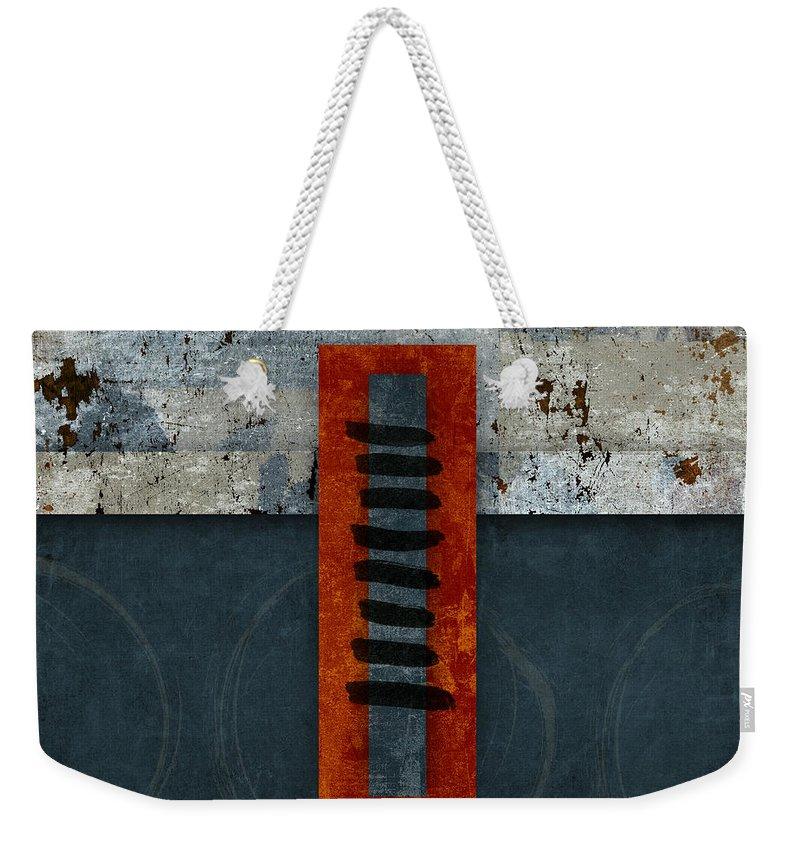 Oriental Weekender Tote Bags