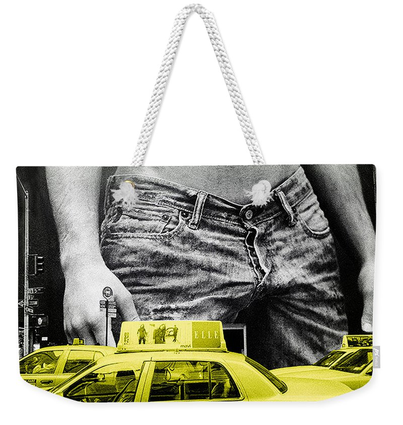 Photo Weekender Tote Bag featuring the photograph Fifth Avenue- Ny by Enrique Crusellas