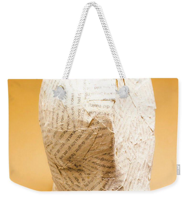 Poetry Weekender Tote Bag featuring the photograph Figurative Poetry by Jorgo Photography - Wall Art Gallery