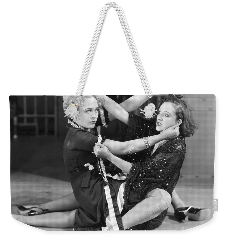-fights- Weekender Tote Bag featuring the photograph Film Still: Chicago, 1927 by Granger