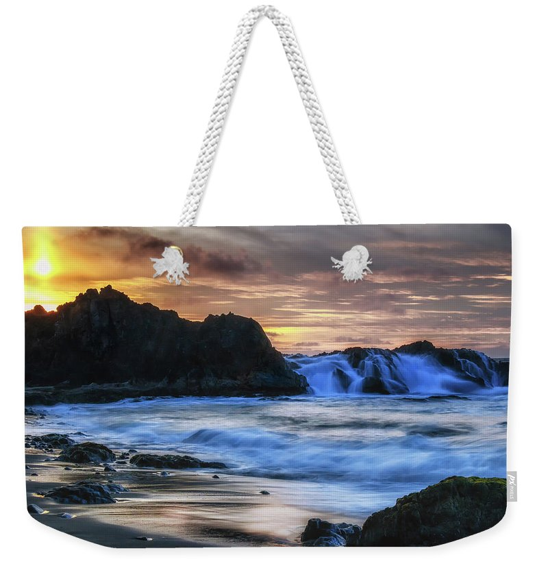 California Weekender Tote Bag featuring the photograph Final Call by Marnie Patchett