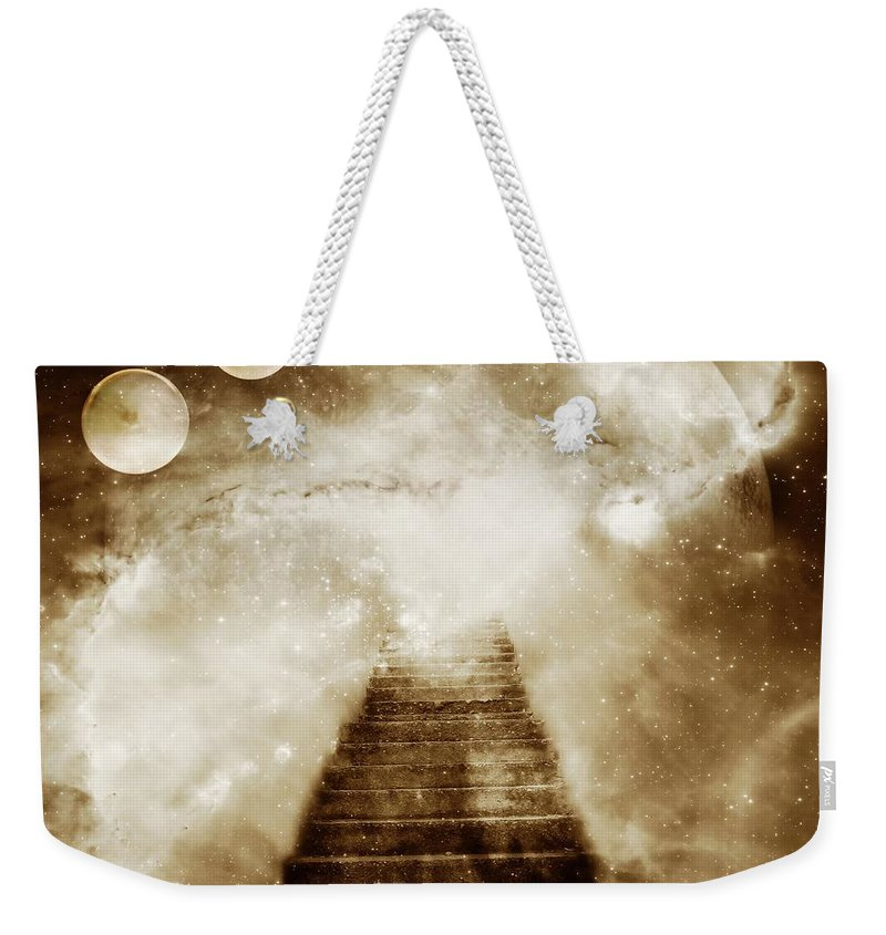 Fantasy Weekender Tote Bag featuring the photograph Final Destination by Jacky Gerritsen