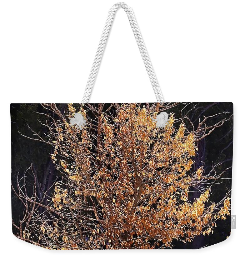 California Scenes Weekender Tote Bag featuring the photograph Final Fall by Norman Andrus