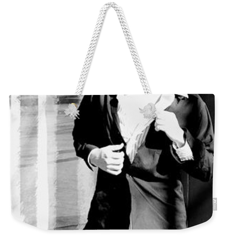 America Weekender Tote Bag featuring the photograph Fine American Model by Angus Hooper Iii