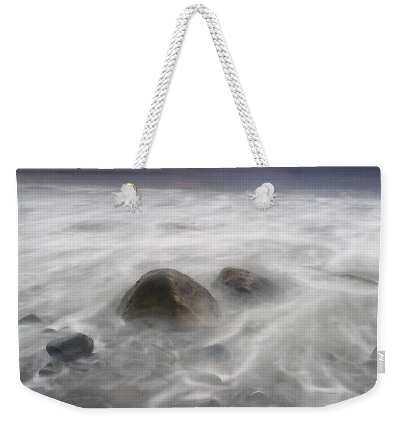 Storm Weekender Tote Bag featuring the photograph Fingers Of The Storm by Mike Dawson