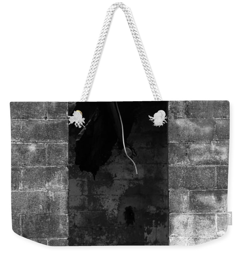 Fire Weekender Tote Bag featuring the photograph Fire by Amanda Barcon