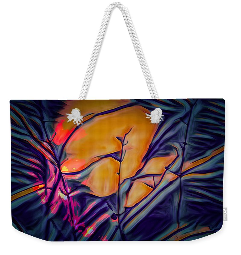 Photograph Weekender Tote Bag featuring the photograph Fire Ring Sunset by Scott Carlton