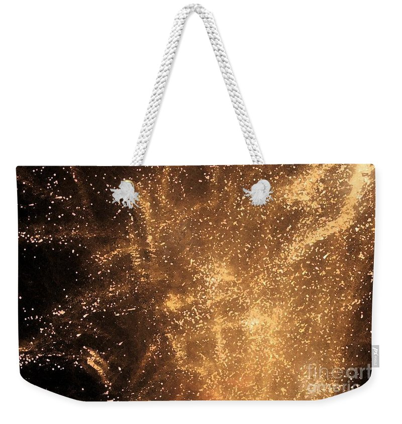 Fireworks Weekender Tote Bag featuring the photograph Fired Up by Debbi Granruth