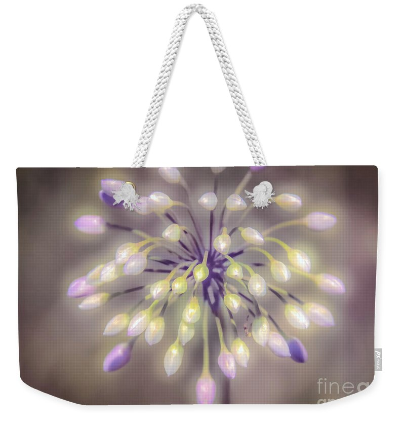 Peggy Franz Photography Weekender Tote Bag featuring the photograph Fireworks Wildflowers by Peggy Franz